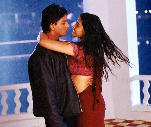Shah Rukh Khan and Kajol in Kuch Kuch Hota Hai