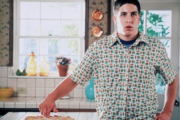 The scene from American Pie