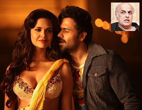 Esha Gupta and Emraan Hashmi in Jannat 2. Inset: Mahesh Bhatt