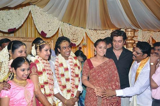 Simran and Deepak Bagga with the newlyweds