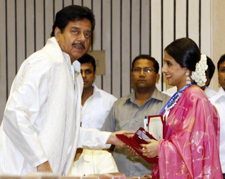 Shatrughan Sinha and Vidya Balan