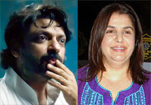 Sanjay Leela Bhansali and Farah Khan
