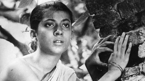 A scene from Pather Panchali