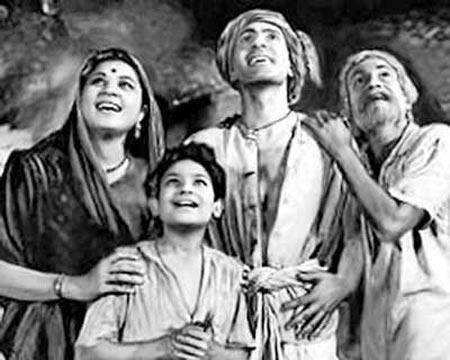 A scene from Do Beegha Zamin