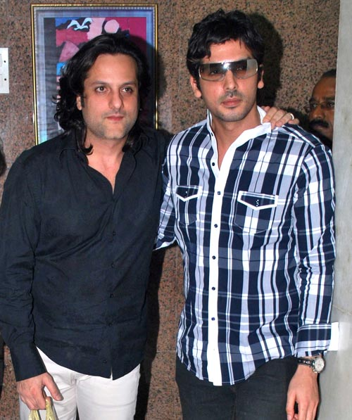 Fardeen and Zayed Khan