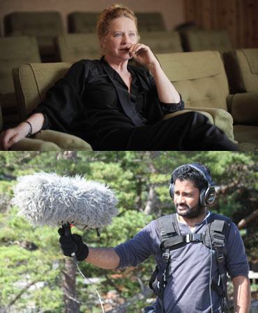 Liv Ullman and Resul Pokutty