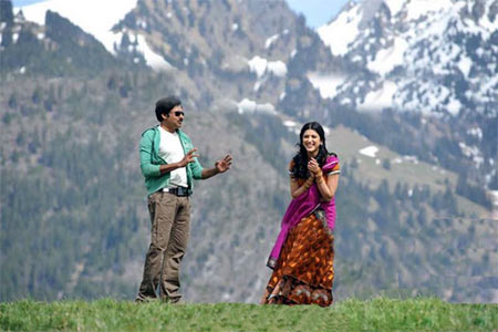 A scene from Gabbar Singh