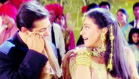 A scene from Kuch Kuch Hota Hai