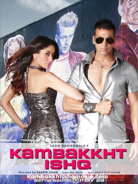 Movie poster of Kambakht Ishq