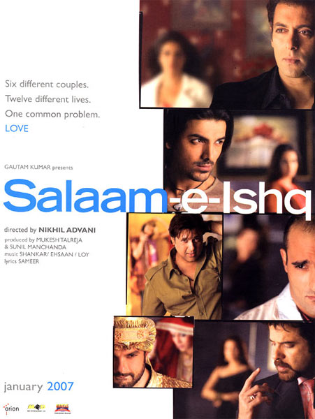 Movie poster of Salaam-E-Ishq