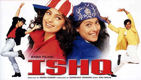 Movie poster of Ishq
