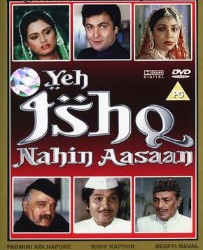 Movie poster of Yeh Ishq Nahi Aasan