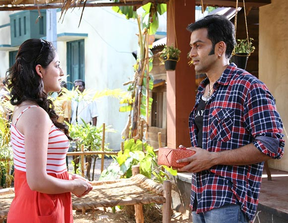 Yami Gautam and Prithviraj in Hero