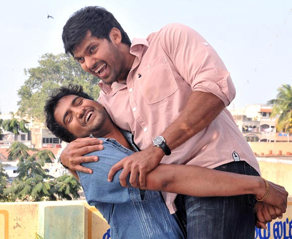 A scene from Boss Engira Baskaran