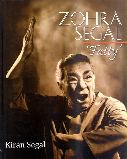 Zohra Segal on the cover of the book Zohra Segal Fatty