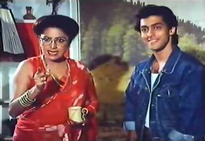 Bindu and Salman Khan in Biwi Ho Toh Aisi