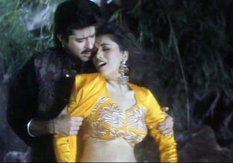 Anil Kapoor and Madhuri Dixit in Beta