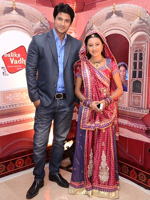 Sidharth Shukla and Pratyusha Banerjee