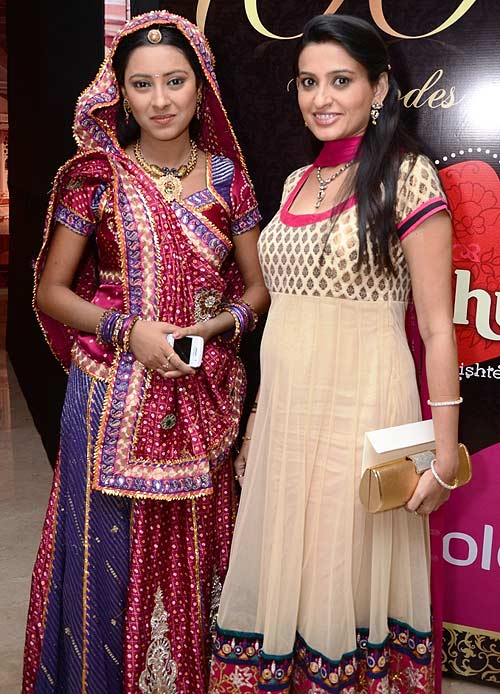 Pratyusha Bannerjee and Smita Bansal