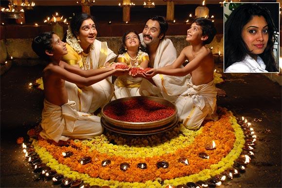 A scene from Manjadikuru. Inset: Director Anjali Menon