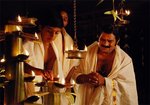 A scene from Manjadikuru