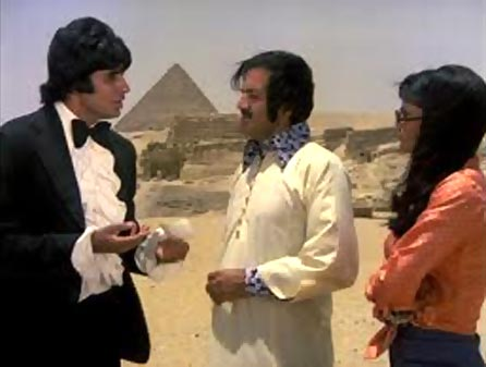 Amitabh Bachchan in Great Gambler