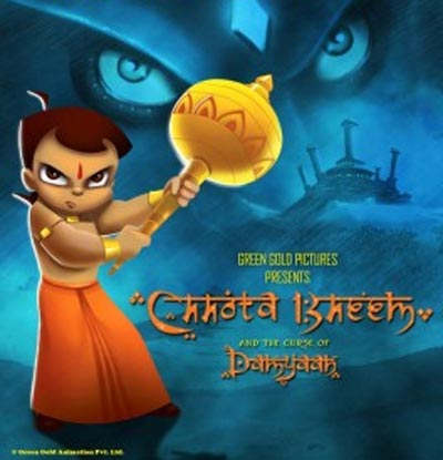 Movie poster of Chhota Bheem