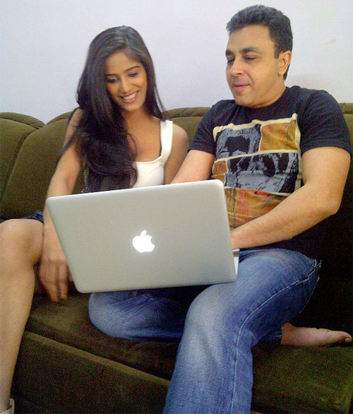 Poonam Pandey and Amit Saxena