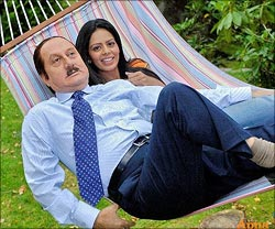 A scene from Mr Bhatti On Chutti