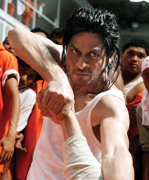 Shah Rukh Khan in a scene from Don 2