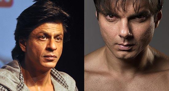 Shah Rukh Khan and Sohail Khan
