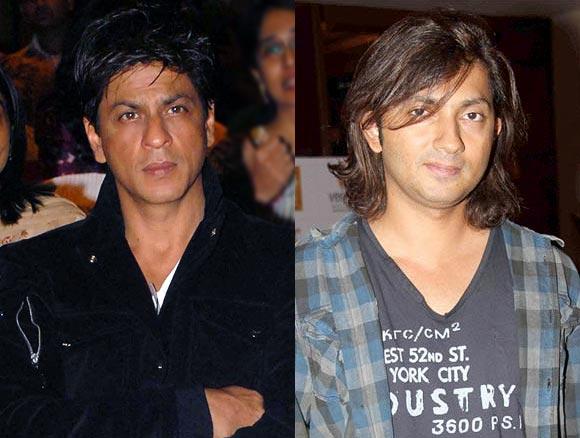 Shah Rukh Khan and Shirish Kunder