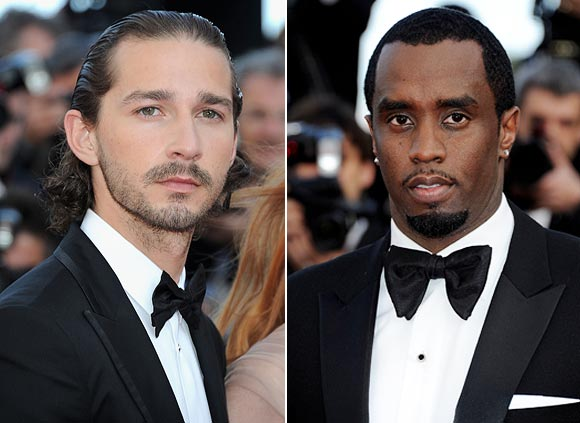 Shia Labeouf and Sean Combs