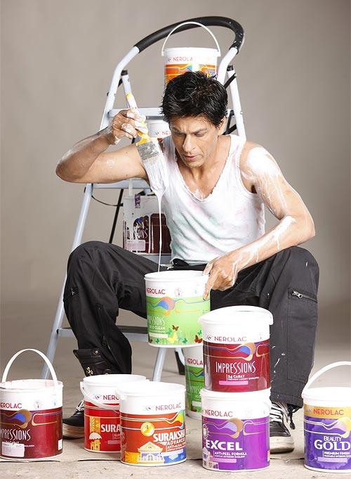 Shah Rukh Khan in Nerolac ad