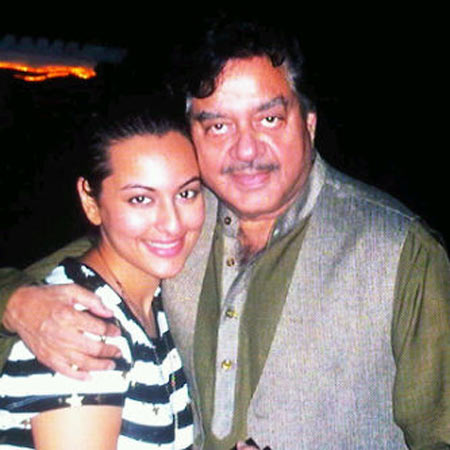 Sonakshi Sinha with her father Shatrughan Sinha