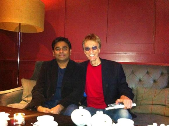 A R Rahman and Robin Gibb