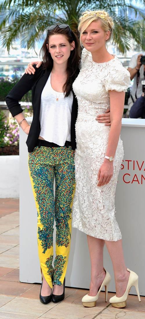 Kristen Stewart and Kirsten Dunst