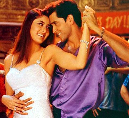 Kareena Kapoor and Hrithik Roshan in Main Prem Ki Deewani Hun