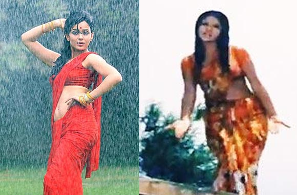 Kangna Ranaut and Zeenat Aman