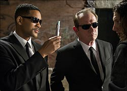 A scene from Men In Black 3