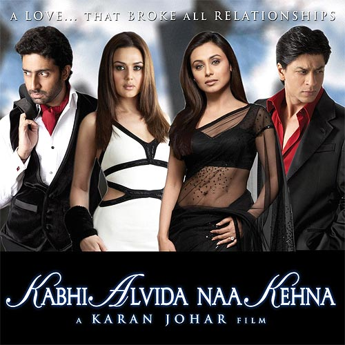 Movie poster of Kabhi Alvida Na Kehna