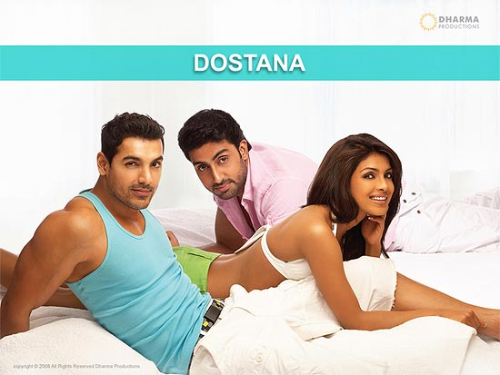 Movie poster of Dostana