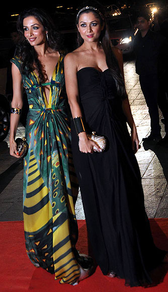 Malaika and Amrita Arora
