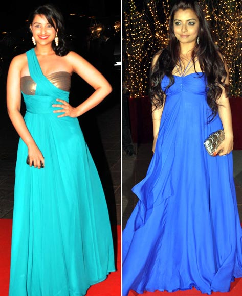 Parineeti Chopra and Vaibhavi Merchant