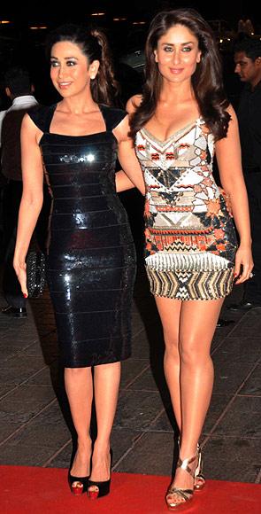 Karisma and Kareena Kapoor