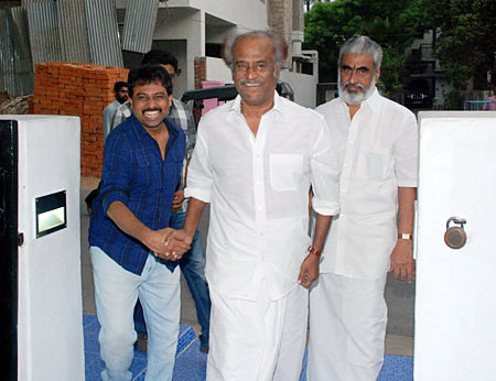 Director-producer N Linguswamy welcomes Rajinikanth
