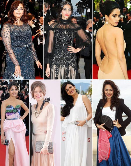 VOTE! Most Fashionable Indian at Cannes