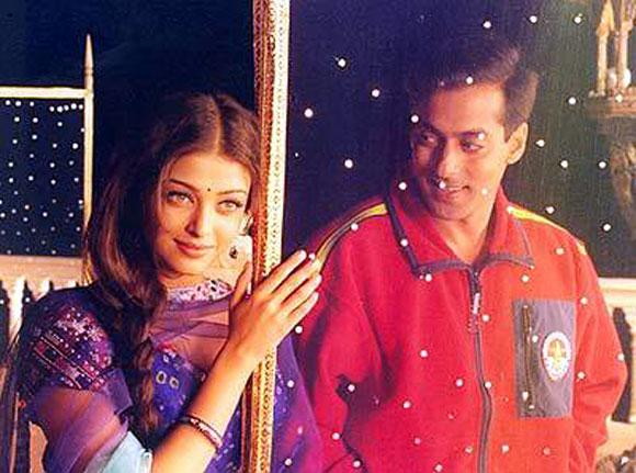 Aishwarya Rai Bachchan and Salman Khan in Hum Dil De Chuke Sanam