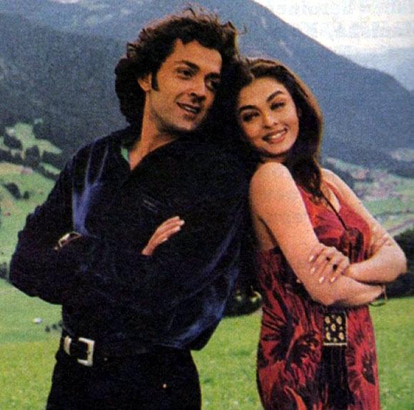 Bobby Deol and Aishwarya Rai Bachchan in Aur Pyaar Ho Gaya