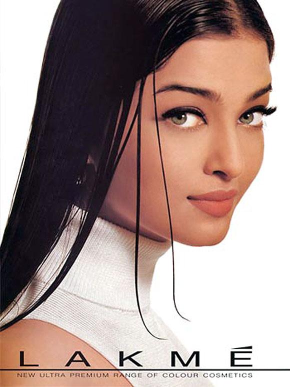 Aishwarya Rai Bachchan in Lakme ad